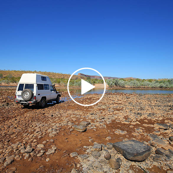 Gibb River Road Zeitraffer Time Lapse